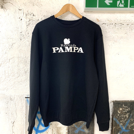 Sweater black web